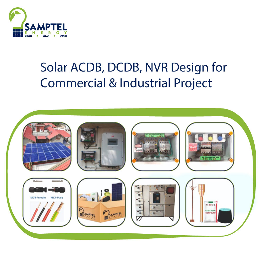 Solar ACDB, DCDB, NVR Design for Commercial & Industrial Project